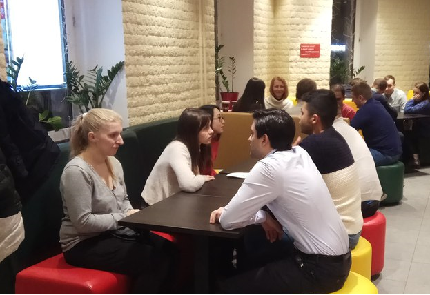 english speed-meeting in Moscow